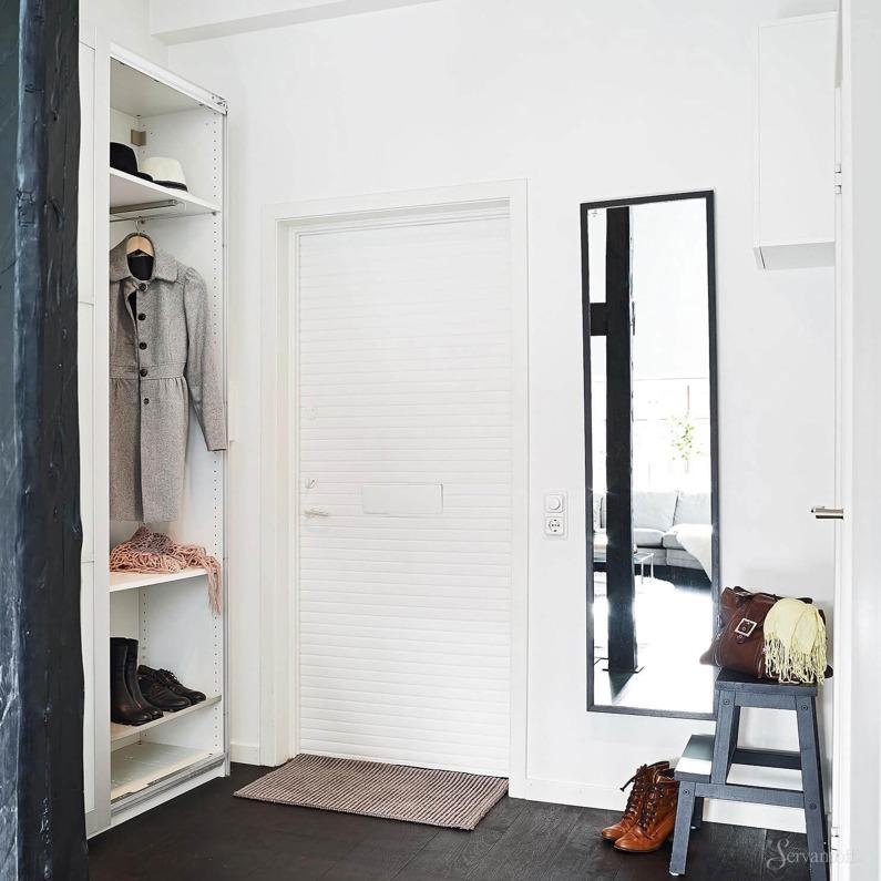 Мебель в скандинавском стиле отличается своей простой и функциональность