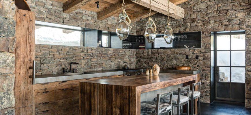 Принципы создания кухни в стиле лофт. Основные элементы помещения