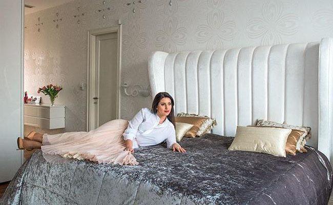 Свет и элегантность в квартире певицы Жасмин
