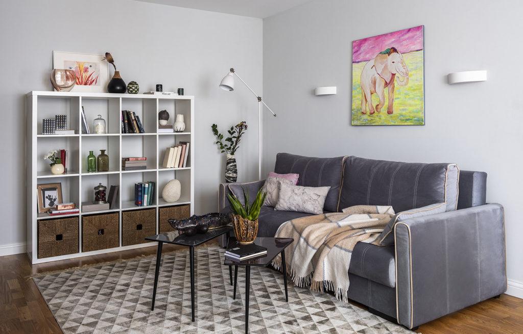 Внешний вид одной из малогабаритных квартир