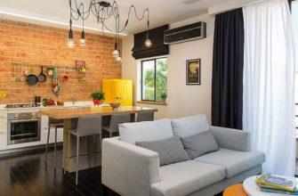 Идеи зонирования на кухне-гостиной в хрущевке