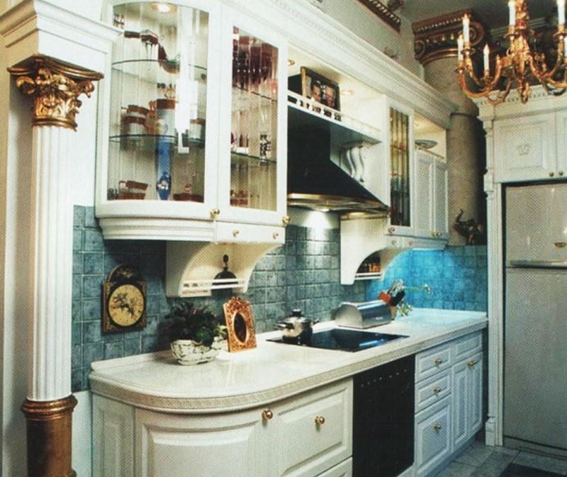 Роскошная кухня Пескова