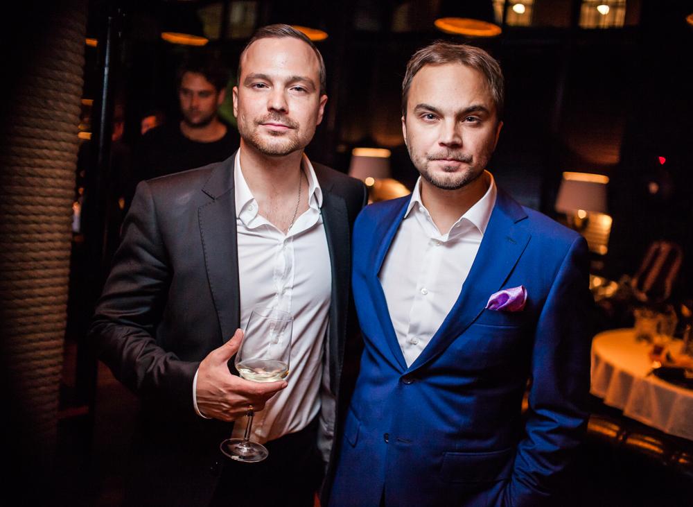 Алексей Чадов и его брат