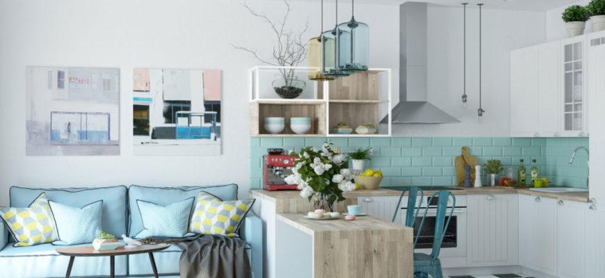Как оформить студию в скандинавском стиле? Свет, цвета, мебель.