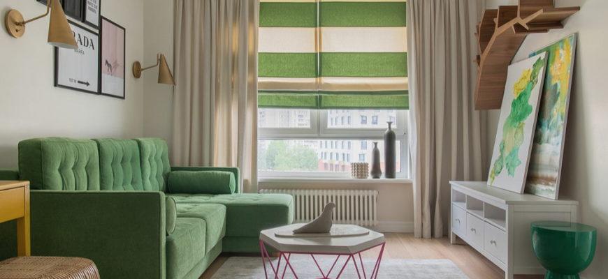 Как оформить гостиную на 15 квадратных метрах