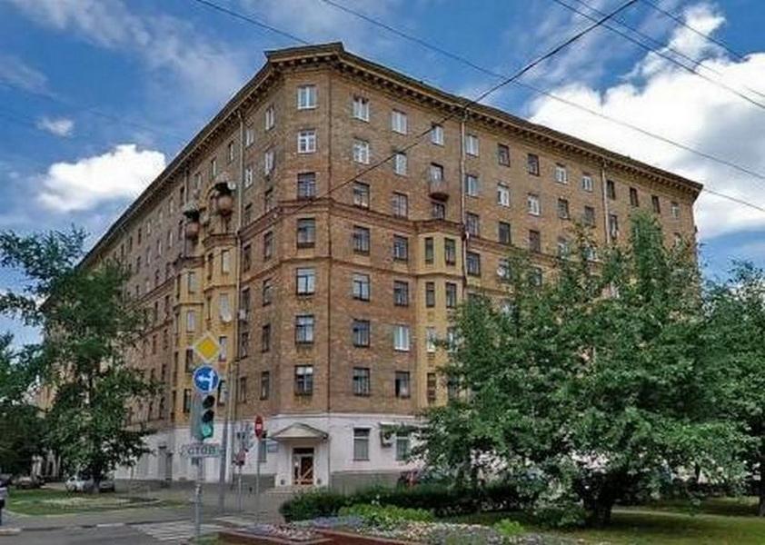 Дом, где находится квартира Светланы
