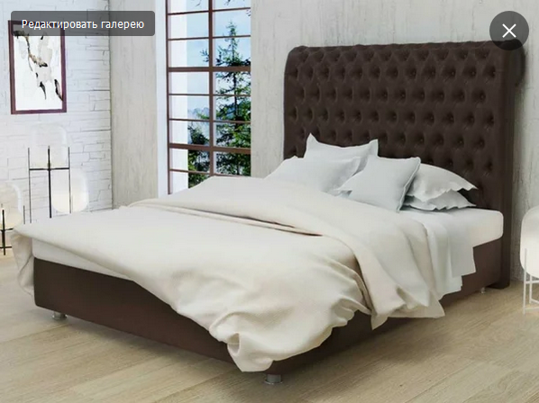 Редкие фотографии кровати без прикроватных тумбочек