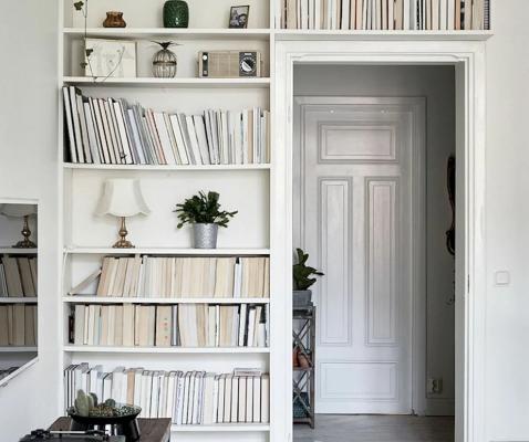 6 полезных идей, где хранить книги