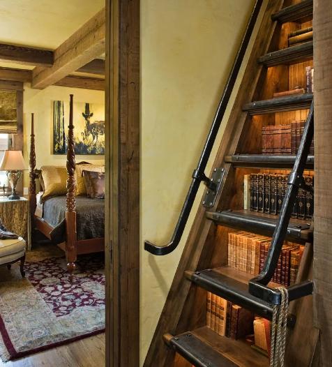 Книги под ступеньками