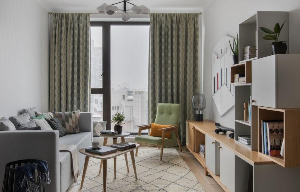 Комната со светлым настроением