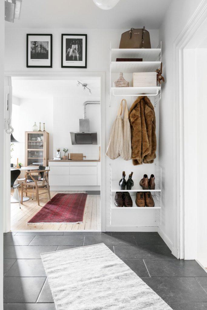 Отделочные материалы в коридоре в скандинавском стиле