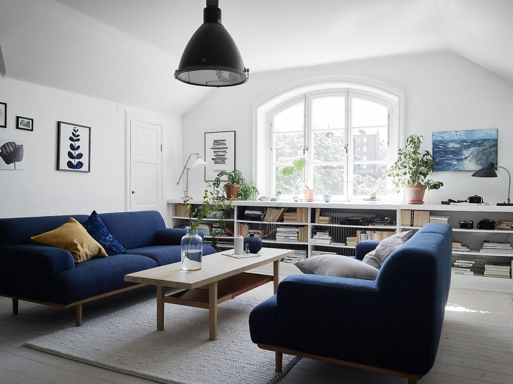 Аккуратная мебель из моно-материалов спокойных тонов