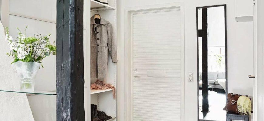 Как выбрать мебель и отделочные материалы в прихожую в скандинавском стиле?